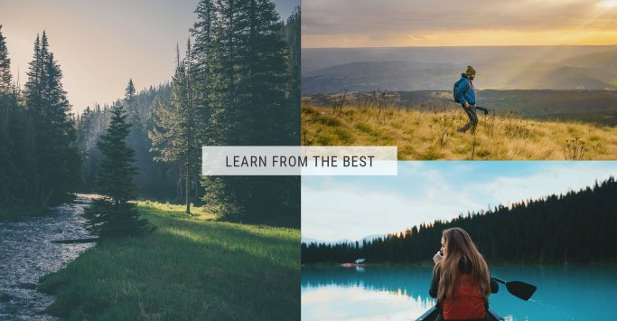 Earn a degree from the LowerGear Outdoors University